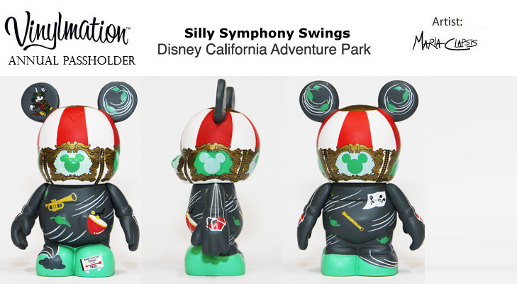 Vinylmation Open And Misc Exclusives Silly Symphony Swings