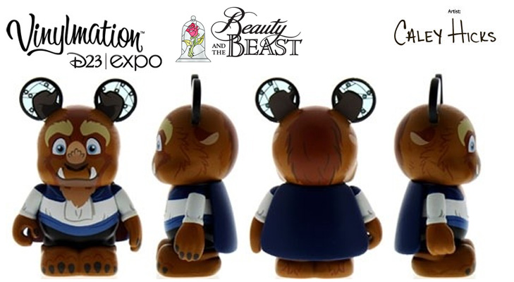 Vinylmation Open And Misc Beauty and the Beast Beast