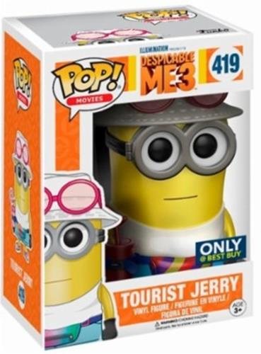 Funko Pop! Movies Jerry (Tourist) - Metallic Stock