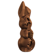 Mighty Jaxx Mighty Jaxx Anatomical Chocolate Easter Bunny
