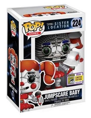 Funko Pop! Games Baby (Jumpscare) Stock