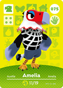 Amiibo Cards Animal Crossing Series 1 Amelia