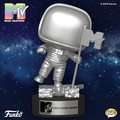 Funko Pop! Icons MTV Moon Person Stock