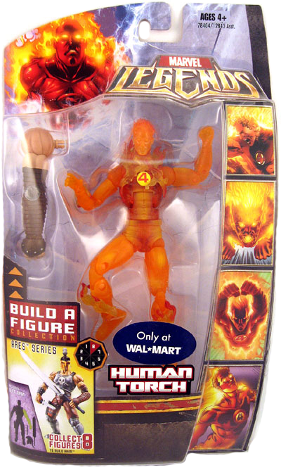Marvel Legends Ares Series Human Torch