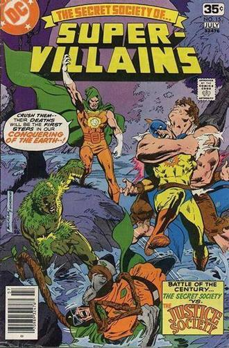 DC Comics Secret Society of Super-Villains (1976 - 1978) Secret Society of Super-Villains (1976) #15 Icon Thumb