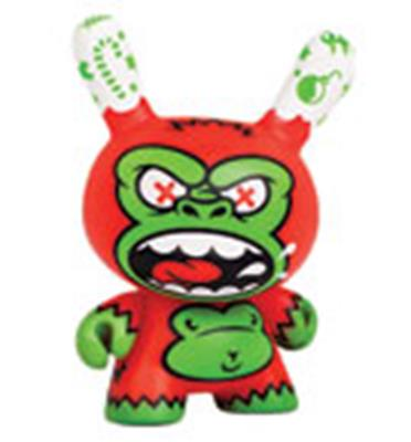 Kid Robot Special Edition Dunny HolidAPE (Christmas) Stock