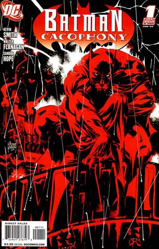 DC Comics Batman Cacophony (2008) Batman Cacophony (2008) #1 Icon