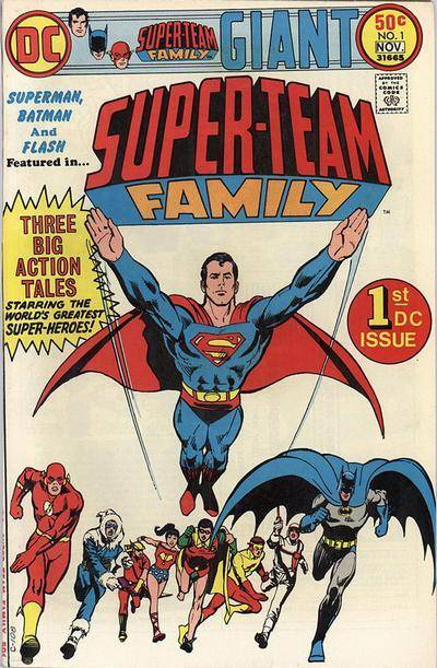 DC Comics Super-Team Family (1975 - 1978)