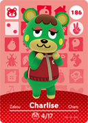 Amiibo Cards Animal Crossing Series 2 Charlise