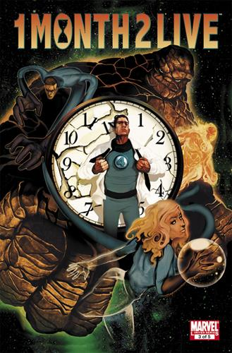 Marvel Comics Heroic Age: One Month to Live (2010) Heroic Age: One Month to Live (2010) #3 Stock