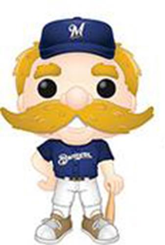 Funko Pop! MLB Milwaukee Brewers Mascot Bernie Brewer