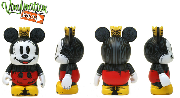 Vinylmation Open And Misc D-Tour King Mickey