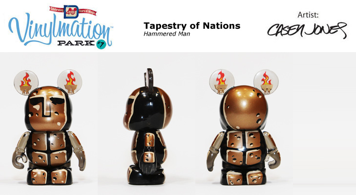Vinylmation Open And Misc Park 7 Hammered Man