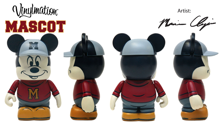Vinylmation Open And Misc Mascot Mickey