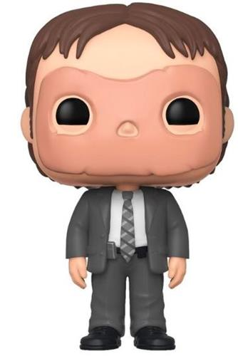 Funko Pop! Television Dwight Schrute (With Mask)