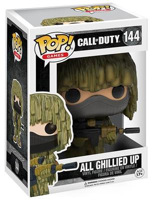 Funko Pop! Games All Ghillied Up Stock Thumb