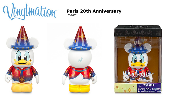 Vinylmation Open And Misc Exclusives Donald