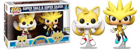 Funko Pop! Games Super Tails & Super Silver (2 Pack)