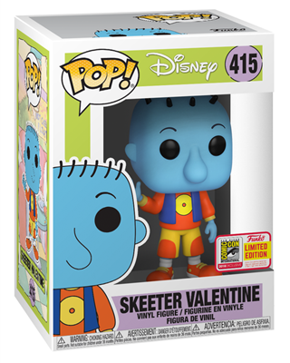 Funko Pop! Disney Skeeter Valentine Stock
