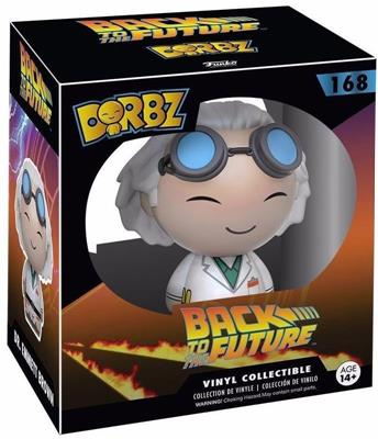Dorbz Movies Dr. Emmett Brown Stock
