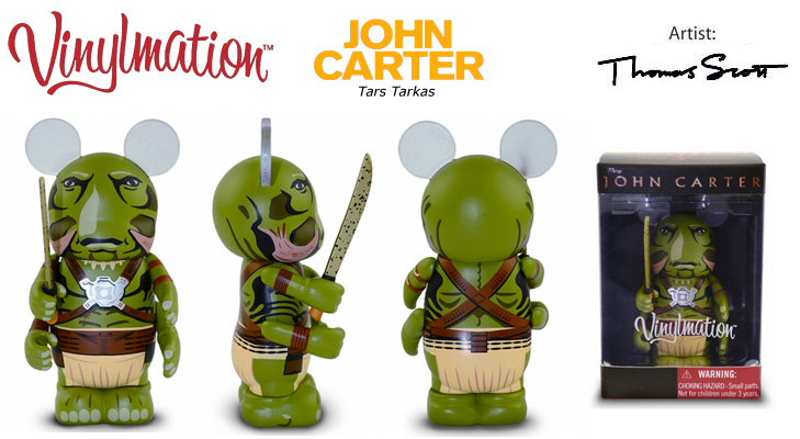 Vinylmation Open And Misc John Carter Tars Tarkas