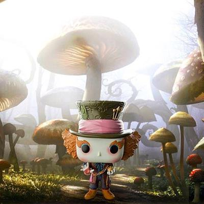 Funko Pop! Disney Mad Hatter (Live Action) justonemorepop on instagram.com