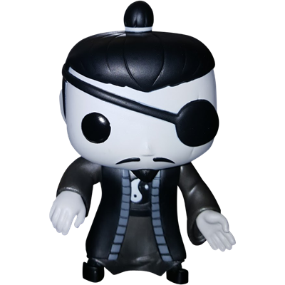 Funko Pop! Asia Wu Tang Priest (Black & White) Icon