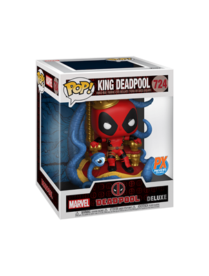 Funko Pop! Marvel King Deadpool (10 Inch) Stock