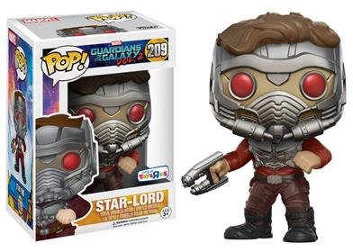 Funko Pop! Marvel Star-Lord (Vol. 2) (Action Pose) Stock