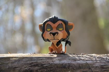 Funko Pop! Disney Scar funkophotographer on instagram.com