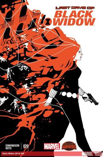 Marvel Comics Black Widow (2014 - Present) Black Widow (2014) #20 Stock