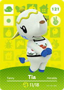 Amiibo Cards Animal Crossing Series 2 Tia