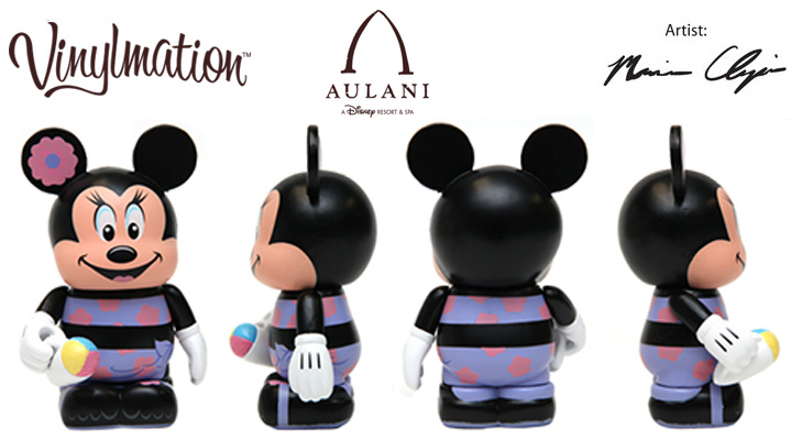 Vinylmation Open And Misc Disney Vacation Club Aulani Minnie
