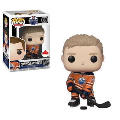 Funko Pop! Hockey Connor McDavid (Orange Jersey) Stock