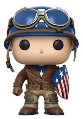 Funko Pop! Marvel Captain America (WWII)