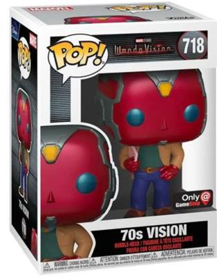 Funko Pop! Marvel 70s Vision Stock