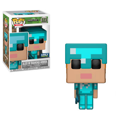 Funko Pop! Games Alex in Diamond Armor Stock