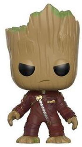 Funko Pop! Marvel Groot (Red Jacket) Icon