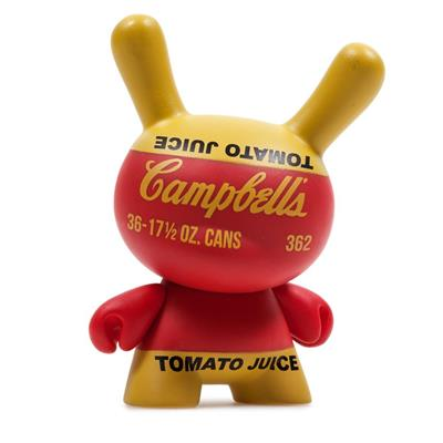 Kid Robot Blind Boxes Andy Warhol Series 2 Campbells Soup Can