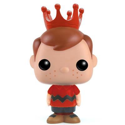 Funko Pop! Freddy Funko Charlie Brown (Red Shirt) Icon