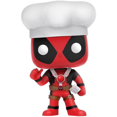 Funko Pop! Marvel Deadpool (Chef)