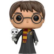 Funko Pop! Harry Potter Harry Potter (Robes and Hedwig)
