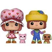 Funko Pop! Animation Strawberry Shortcake, Huckleberry Pie, Custard & Pupcake