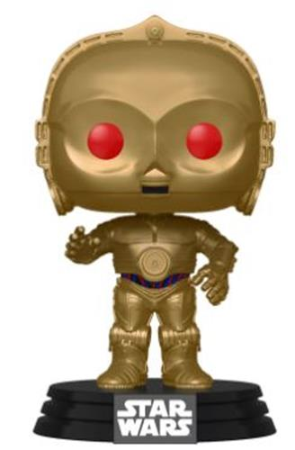 Funko Pop! Star Wars C-3PO (Metallic)