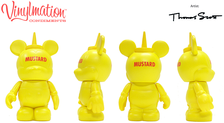 Vinylmation Open And Misc Condiments Mustard