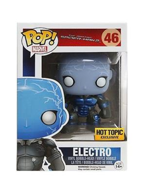 Funko Pop! Marvel Electro (Glow in the Dark) (Metallic) Stock