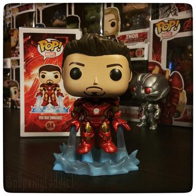 Funko Pop! Marvel Iron Man Mark 43 (Avengers 2) (Unmasked) p0pvinyladdict on instagram.com