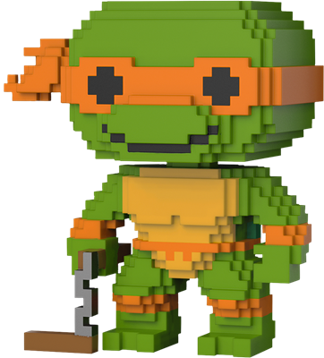 Funko Pop! 8-Bit Michelangelo