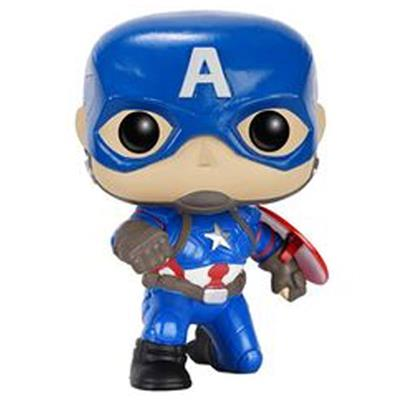 Funko Pop! Marvel Captain America (Civil War) (Action Pose) Icon Thumb