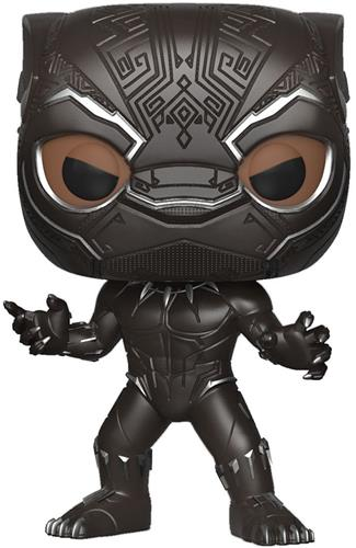 Funko Pop! Marvel Black Panther (Masked) - CHASE